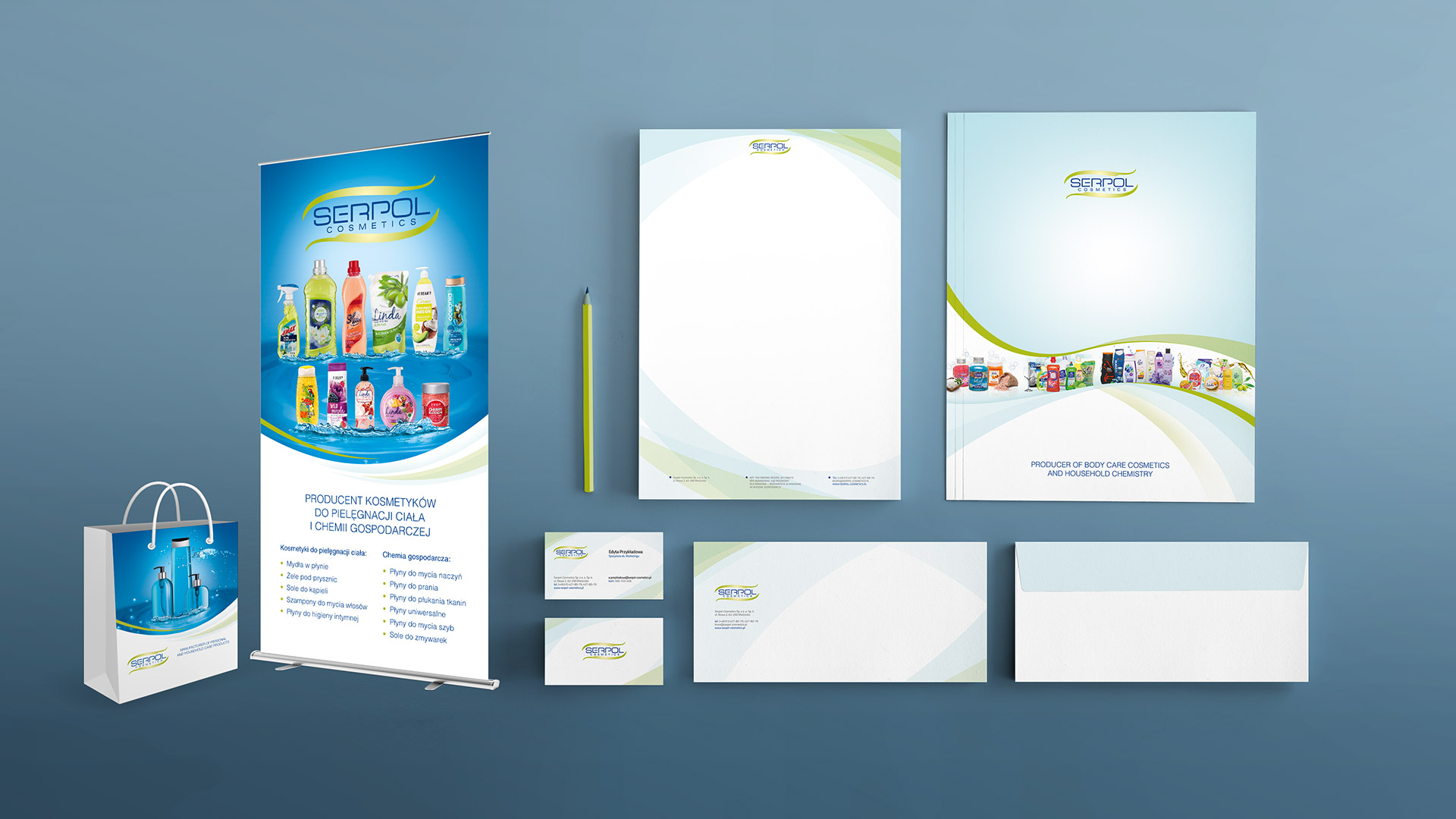 Serpol Cosmetics - corporate identity